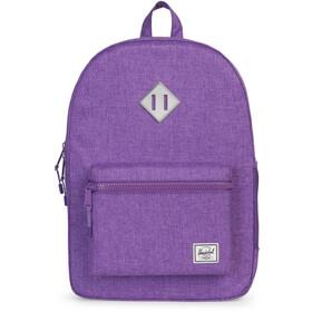 Herschel Heritage XL Backpack Kinder deep lavender/silver reflective